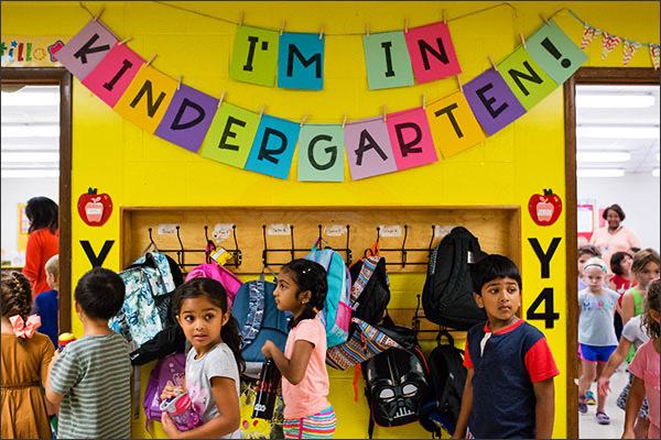 Zach Jr.'s First Day at Kindergarten
