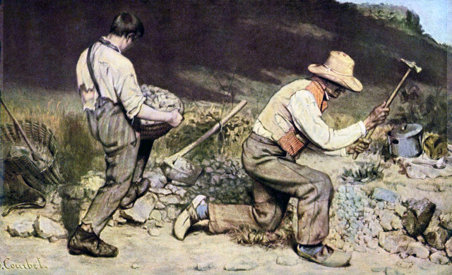 Gli spaccapietre- Courbet