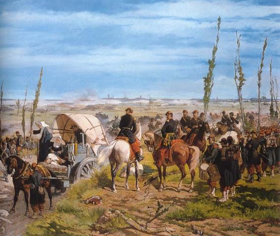 Il campo italiano alla battaglia di Magenta- Fattori