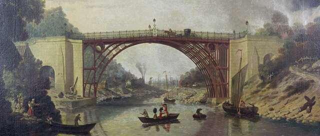 Puente sobre el río Severn