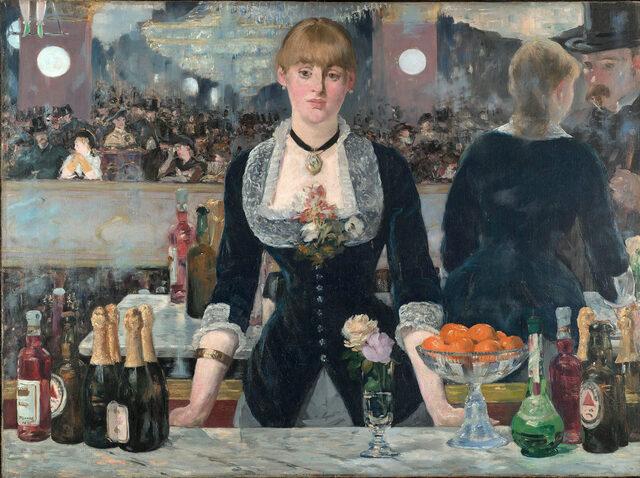 Il bar delle Folies-Bergère- Manet