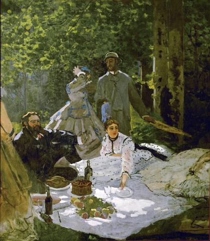 Colazione sull'erba- Monet