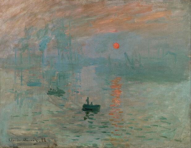 Impressione, levar del sole- Monet