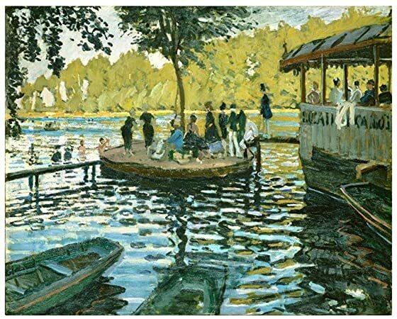 La Grenouillère- Monet