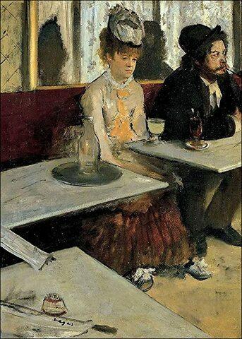 L'assenzio- Degas