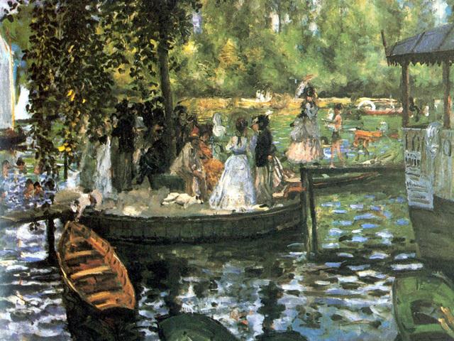 La Grenouillère- Renoir