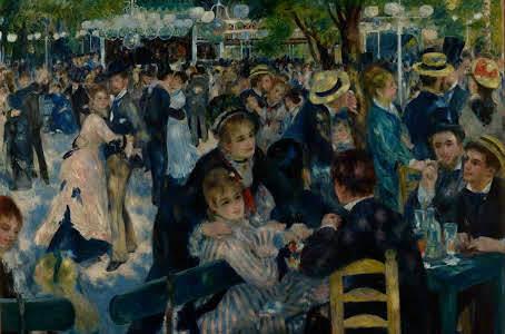 Bal au moulin de la Galette- Renoir