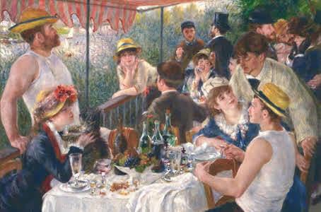 La colazione dei canottieri- Renoir