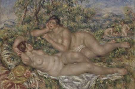 Le bagnanti- Renoir