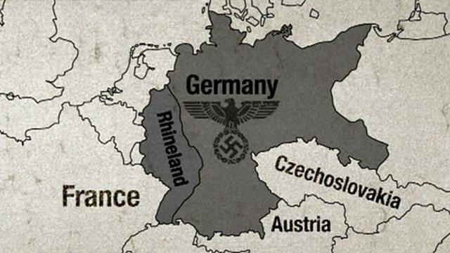 Hitler takes back the Rhineland