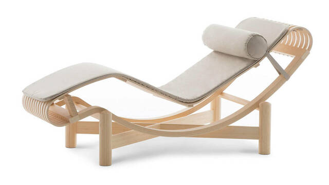 Chaiselounge LC4 de Charlotte Perriand