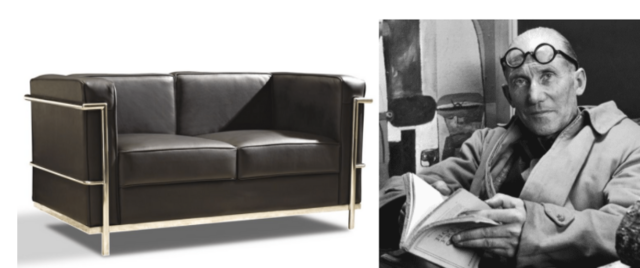 Sofá LC2 de Le Corbusier