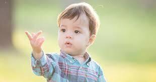 Quan tenía 6 mesos vaig dir la meva primera paraula( va ser papa )