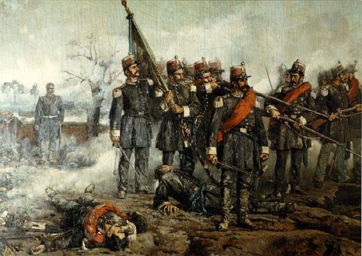 La primera guerra de independencia de Italia