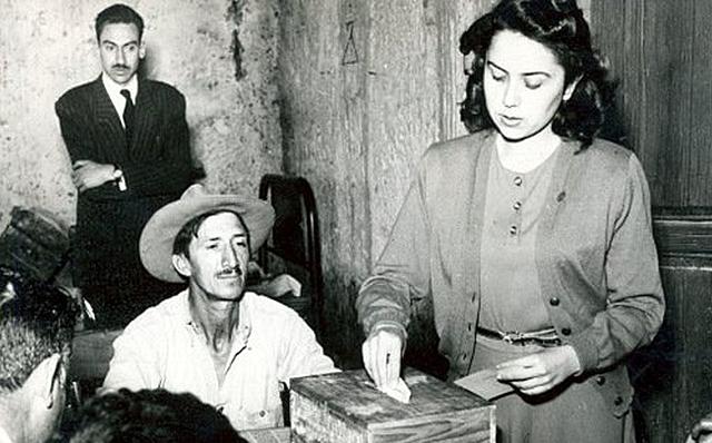 LAS MUJERES VOTAN EN MÉXICO