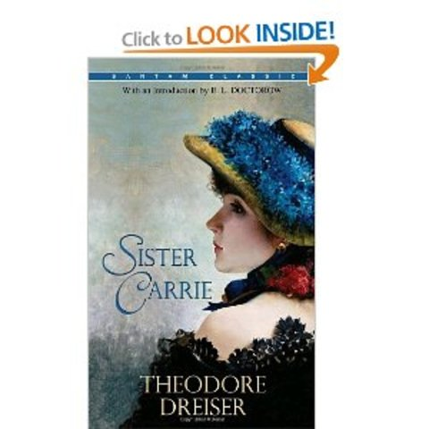 Theodore Dreiser publishes Sister Carrie