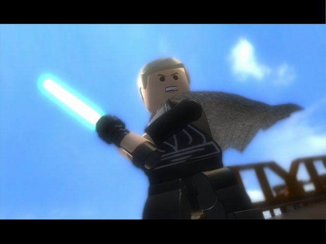 Lego Star Wars the Complete Saga (Nintendo DS)