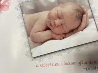 Sister was born
