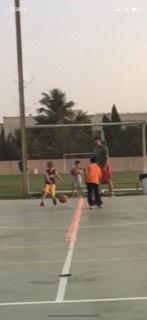 Started playing basketball