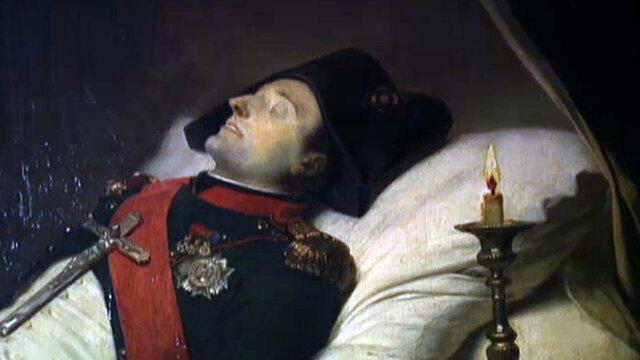 Napoleon dies in exile