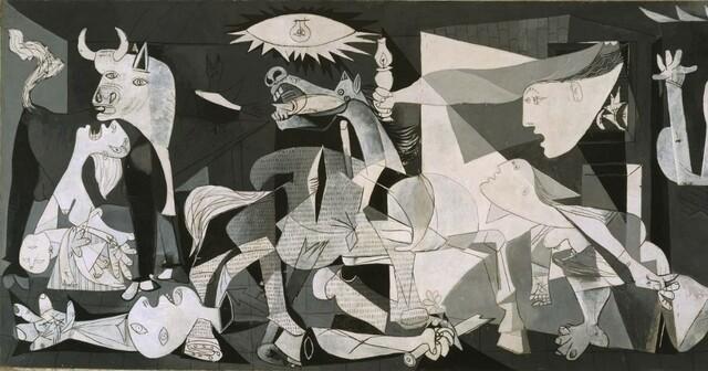 Ofensiva del Norte: Bombardeo en Guernica