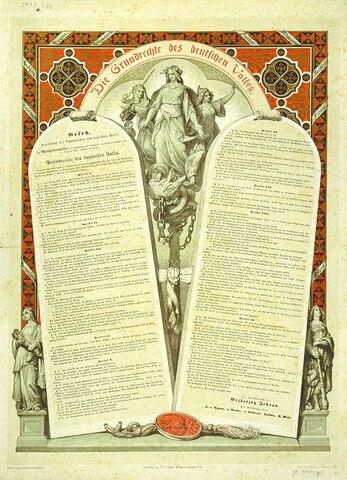 Catalogue of fundamental Rights
