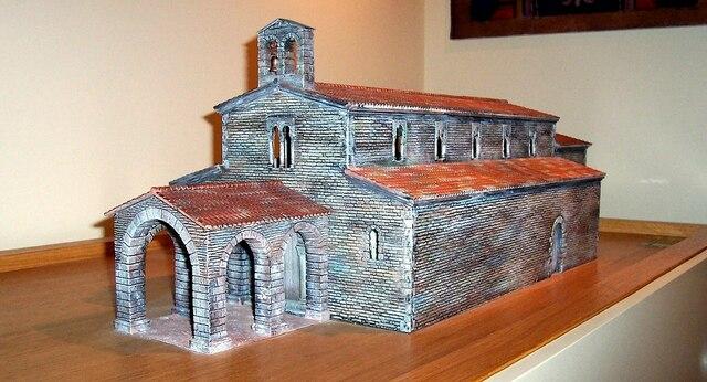 Construção da igreja de Santiago de Compostela