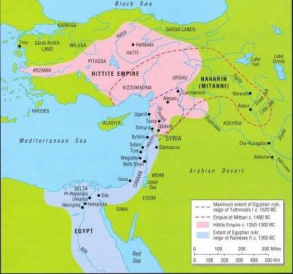 Kadeş Savaşı/İlk yazılı antlaşma