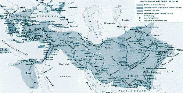Büyük İskender'in Asya Seferi'ne çıkması