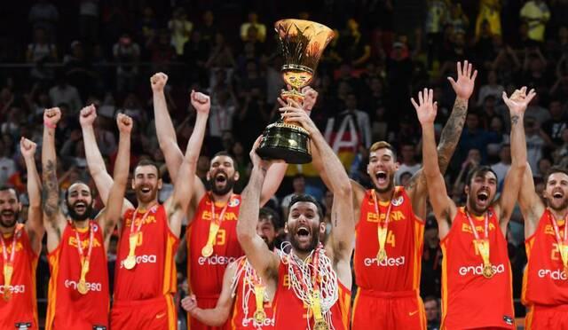 Espanya Guanyador del Mundial de Bàsquet (Fet Històric Cultural)