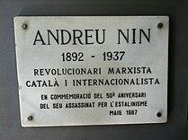 Asesinato de Andrés Nin