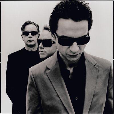 Дискография Depeche Mode timeline