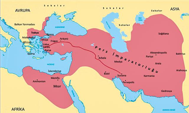 Pers İmparatorluğu'nun kurulması
