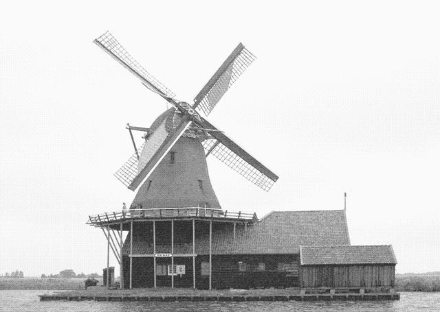 Los molinos de agua y viento