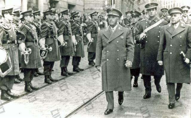 El gobierno de Burgos: el inicio de la dictadura franquista