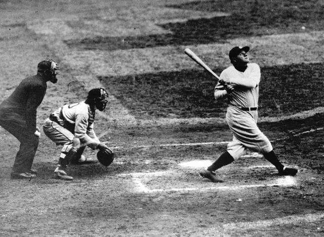 Babe Ruth Hits His 60th Home Run