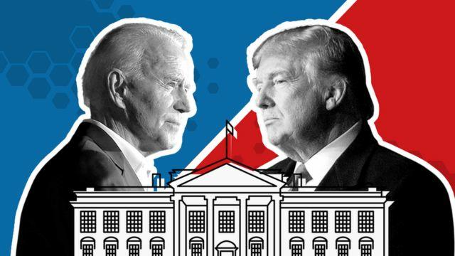 Donal Trump vs Biden