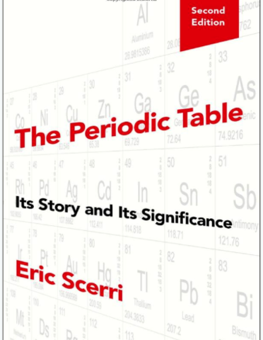 2nd edition of book, The Periodic Table