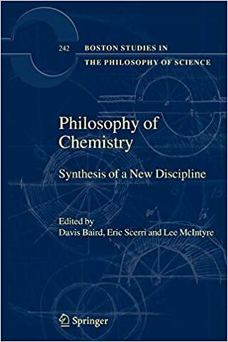 Published first book as editor:  The Philosophy of Chemistry: The Synthesis of a New Discipline,