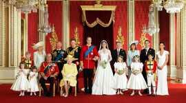 A família real timeline
