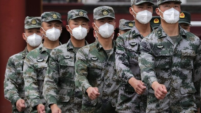 China approves a vaccine for military use