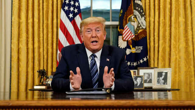 Trump declares a state of national emergency