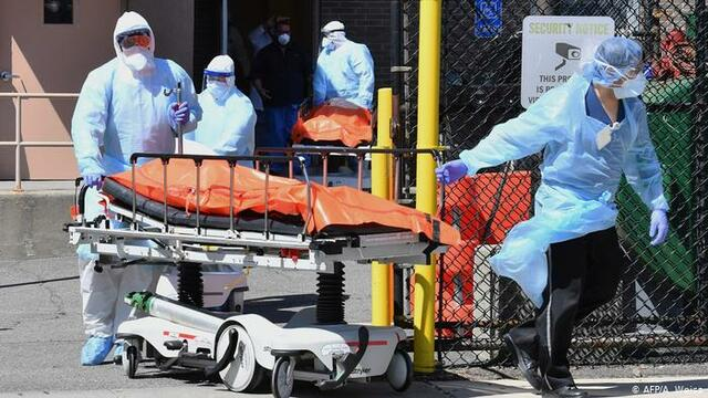 The United States registers a new death record, with 3,936 deaths in 24 hours