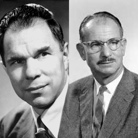 Glenn T. Seaborg y Edwin McMillan