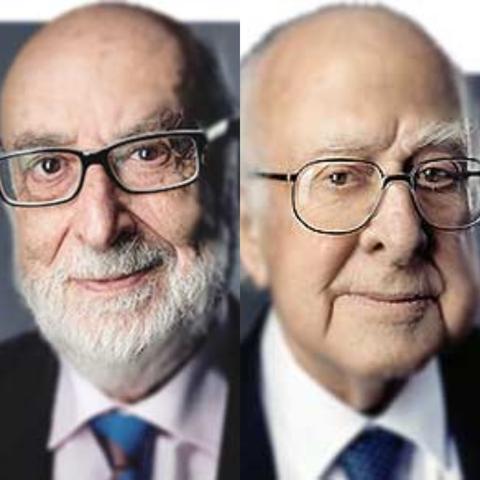 François Englert y Peter Higgs