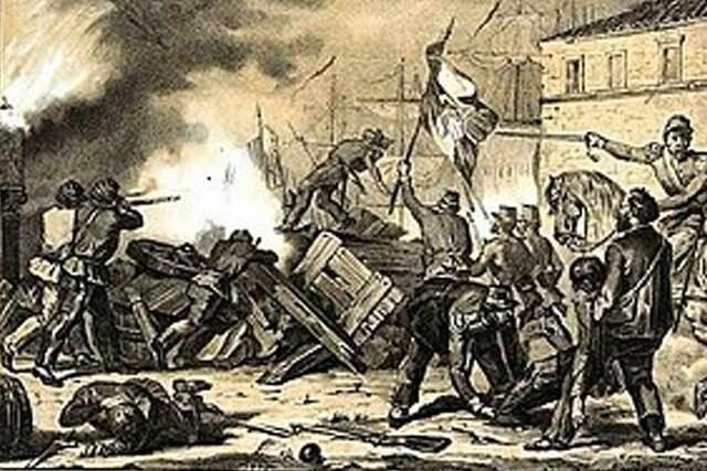 In Sicilia iniziano le rivolte