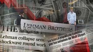 CRISIS LEHMAN BROTHERS (ECONOMIC)