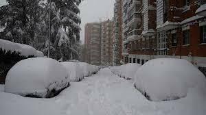 TEMPORAL FILOMENA A MADRID (CLIMATIC)