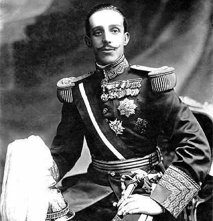 Nacimiento de Alfonso XIII