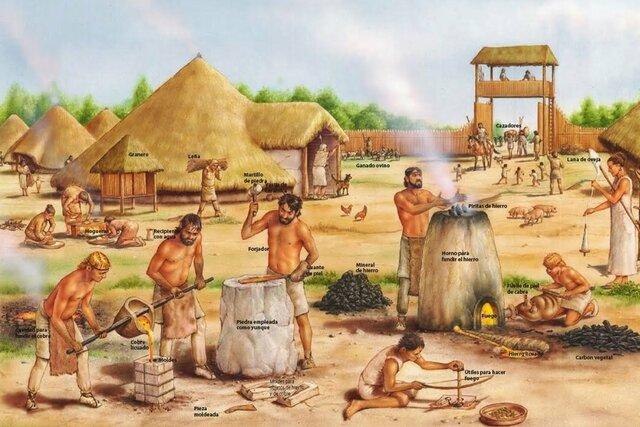 Comunidad primitivas años 6.000-5.000 a.n.e